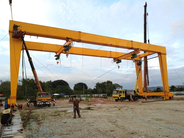 gantry cranes installed in Malaysia