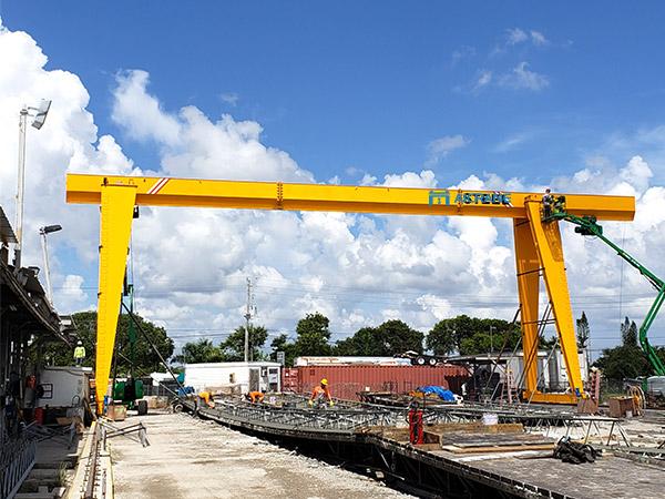 gantry cranes installed in United States