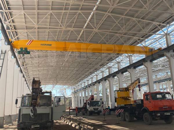 Однобалочный мостовой кран 10 тонн городе Ташкент