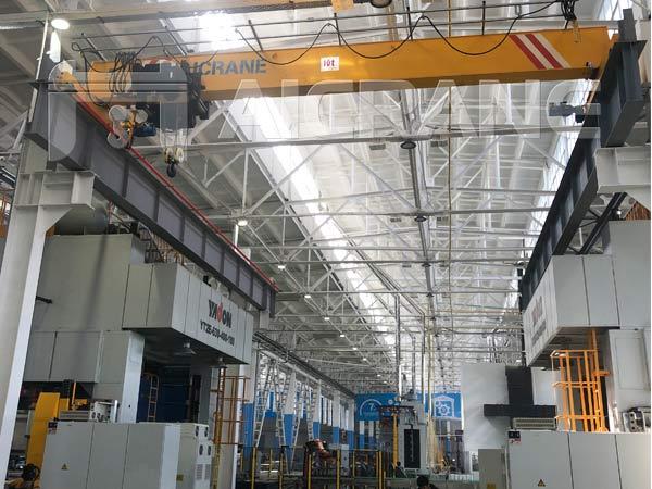 Европейский однобалочный мостовой кран 10 тонн в городе Ташкент