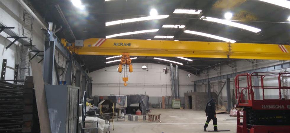 Aicrane Мостовой кран 10 тонн в Аргентине