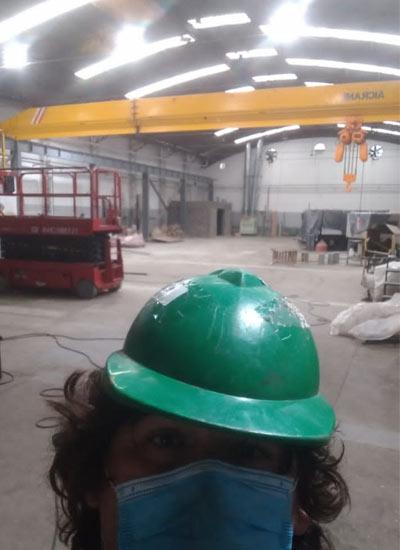 Мостовой кран 10 тонн в Аргентине